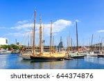 Sailing Boats And Yachts Docke...