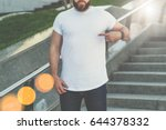 front view.young bearded... | Shutterstock . vector #644378332