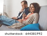 couple spending time together... | Shutterstock . vector #644381992