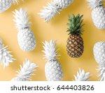 pineapple concept | Shutterstock . vector #644403826
