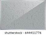 vector set of realistic... | Shutterstock .eps vector #644411776