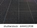 metal mesh. metallic background....   Shutterstock . vector #644411938