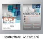 business templates creative... | Shutterstock .eps vector #644424478