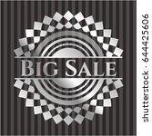 big sale silver badge or emblem | Shutterstock .eps vector #644425606