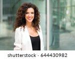 smiling business woman portrait | Shutterstock . vector #644430982