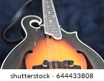 making music  acoustic mandolin | Shutterstock . vector #644433808