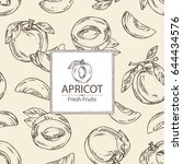 Background With Apricot And...