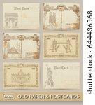 A Set Of Vintage Postcards....