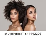beauty photo of two natural... | Shutterstock . vector #644442208