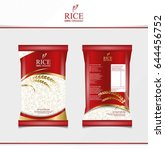 Rice Food Or Thai Food  Package ...