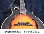 fretted instrument  mandolin | Shutterstock . vector #644462512