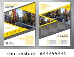 business brochure. flyer design.... | Shutterstock .eps vector #644499445