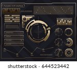abstract future  concept vector ... | Shutterstock .eps vector #644523442