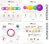 timeline infographics design... | Shutterstock .eps vector #644566462