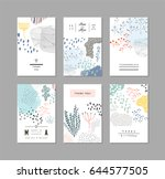 collection of creative... | Shutterstock .eps vector #644577505