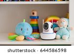 ip camera on the shelf with...   Shutterstock . vector #644586598