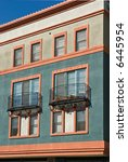architectural details of modern ... | Shutterstock . vector #6445954