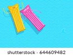 vector illustration of two... | Shutterstock .eps vector #644609482