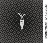 carrot icon. | Shutterstock .eps vector #644612032