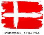 vector illustration of a flag... | Shutterstock .eps vector #644617966