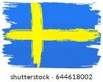 vector illustration of a flag... | Shutterstock .eps vector #644618002