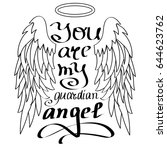 """you are my guardian angel"" ... 