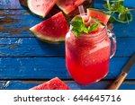 tasty fresh appetizing...   Shutterstock . vector #644645716