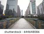 building in the modern city  | Shutterstock . vector #644648086