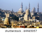 View of Cairo - stock photo
