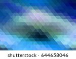 modern abstract colorful... | Shutterstock . vector #644658046