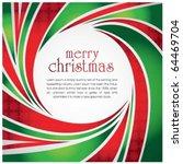 Swirl Christmas Greeting Card...