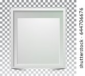 creative photo frame design and ... | Shutterstock .eps vector #644706676