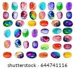 vector illustration. . colorful ... | Shutterstock .eps vector #644741116