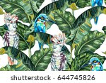 Tropical Summer Vector Seamles...