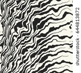 abstract zebra degrade... | Shutterstock .eps vector #644813872