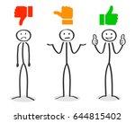 position  positive  negative ... | Shutterstock .eps vector #644815402