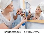contouring face kit  visage and ...   Shutterstock . vector #644828992