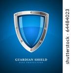 security shield symbol icon... | Shutterstock .eps vector #64484023