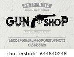 font.alphabet.script.typeface... | Shutterstock .eps vector #644840248