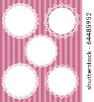 circle lace   Shutterstock .eps vector #64485952
