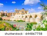 cordoba  spain. the roman... | Shutterstock . vector #644867758