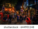 nightlife on the streets of... | Shutterstock . vector #644901148