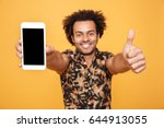 close up portrait of a happy... | Shutterstock . vector #644913055