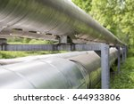 pipelines in a forest | Shutterstock . vector #644933806