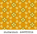 repeatable background with... | Shutterstock .eps vector #644955316