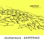 vector futuristic background... | Shutterstock .eps vector #644959465