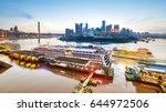 cityscape and skyline of... | Shutterstock . vector #644972506