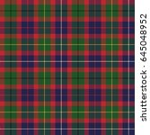 tartan seamless pattern... | Shutterstock .eps vector #645048952