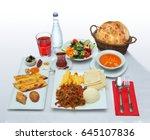 dining table at the ramadan | Shutterstock . vector #645107836