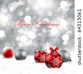 christmas background with... | Shutterstock .eps vector #64515061